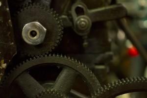 工場の歯車